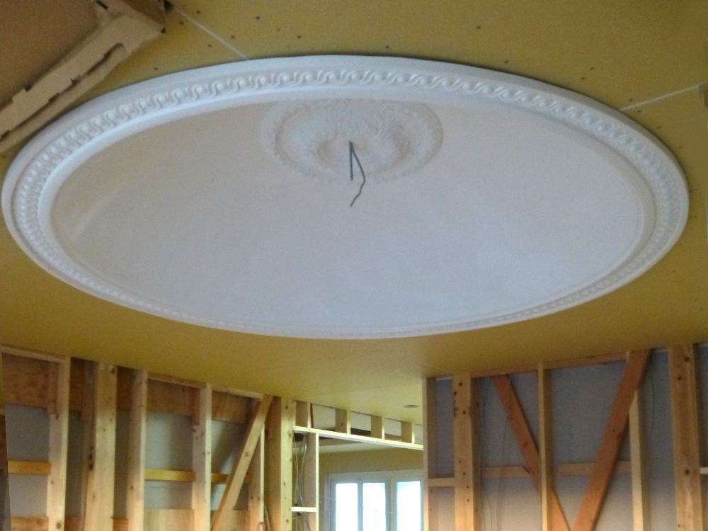 ドーム型の折上げ天井