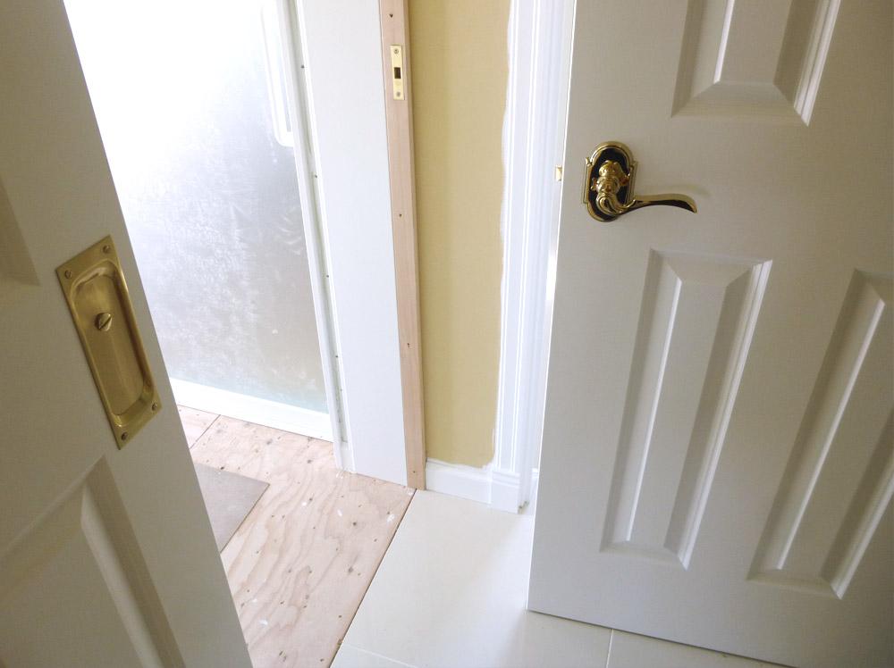 輸入建具のドア