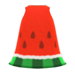 Watermelon Dress New Horizons Animal Crossing Wiki