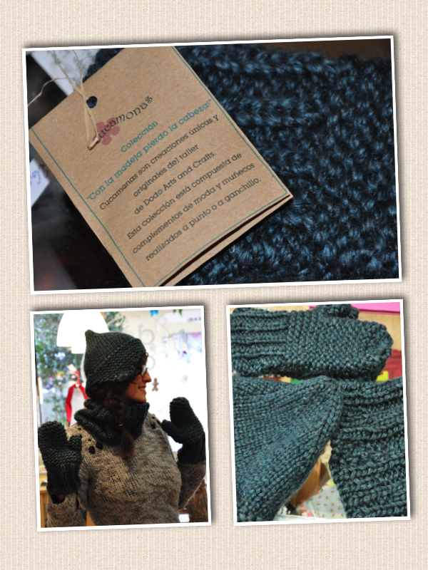 Conjunto de lana hecho a mano por Dodo