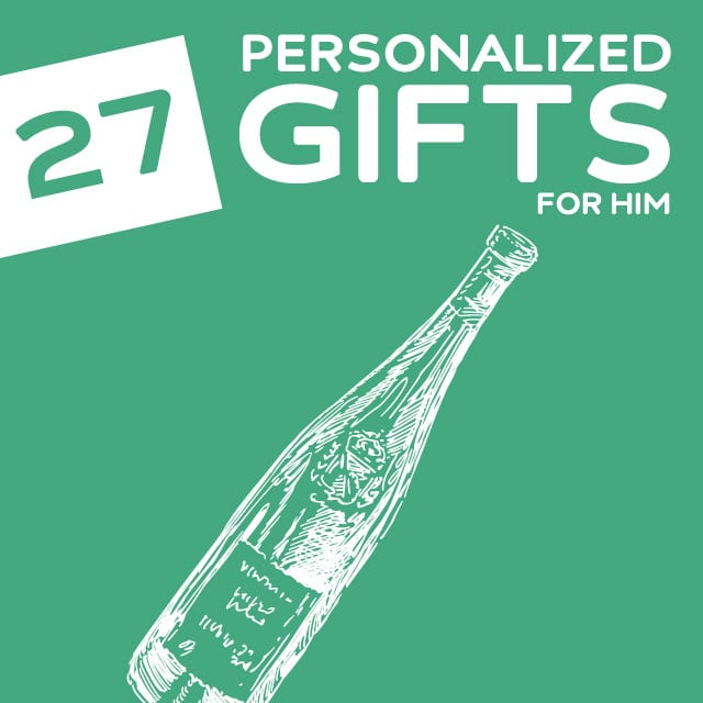27 Thoughtful Personalized Gifts for Him