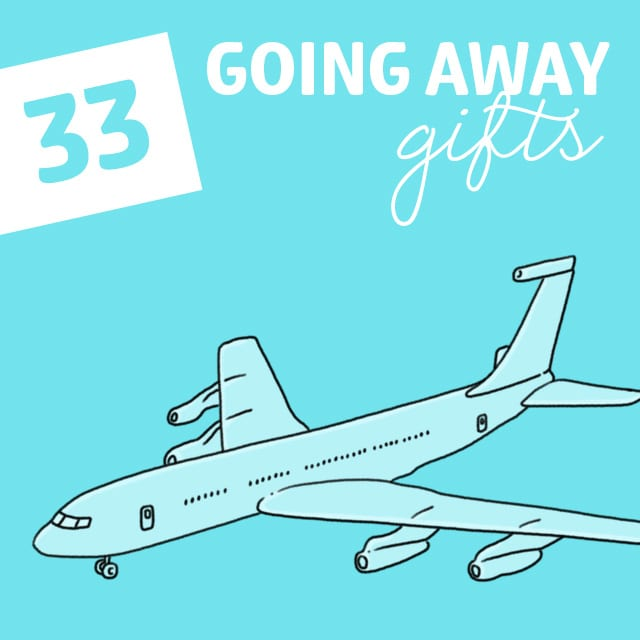33 going away gifts