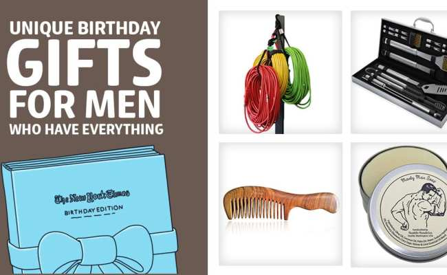 49 Unique Birthday Gifts For Men Who Have Everything