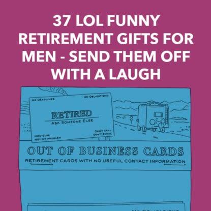 31 terrific retirement gifts