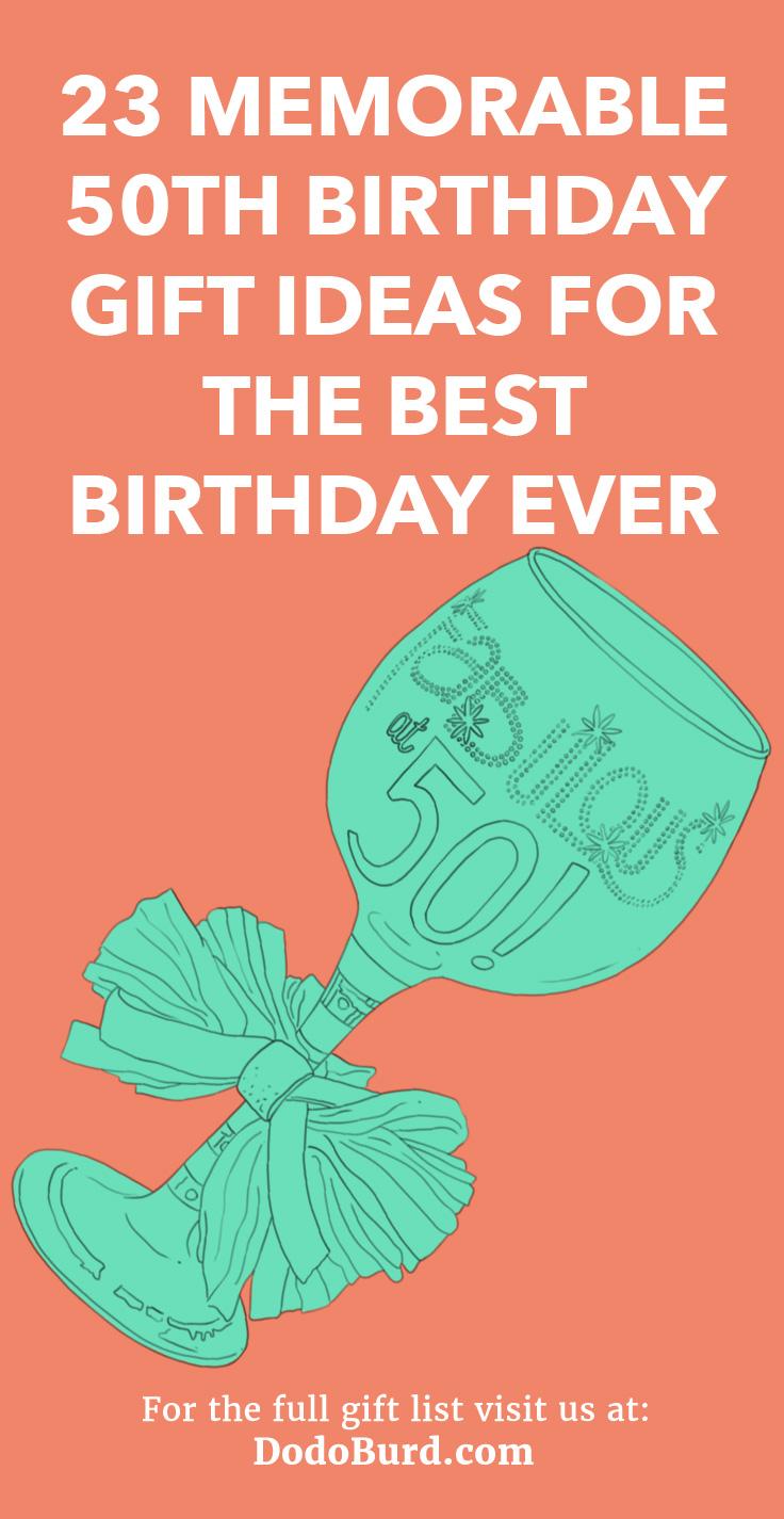 23 memorable 50th birthday