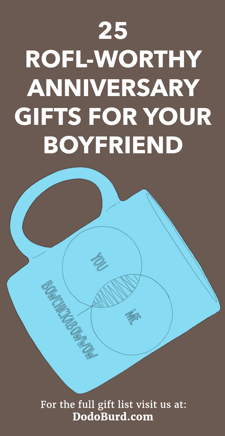 Gag Gifts For Boyfriends : gifts, boyfriends, ROFL-worthy, Anniversary, Gifts, Boyfriend, Funny, Ideas