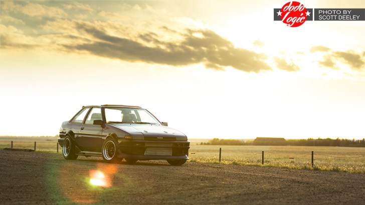 Feature: Travis Hilts' SR20DET swapped AE86