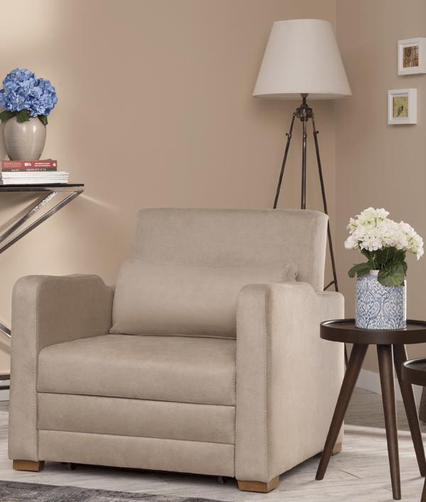 rubin armchair en sofabed