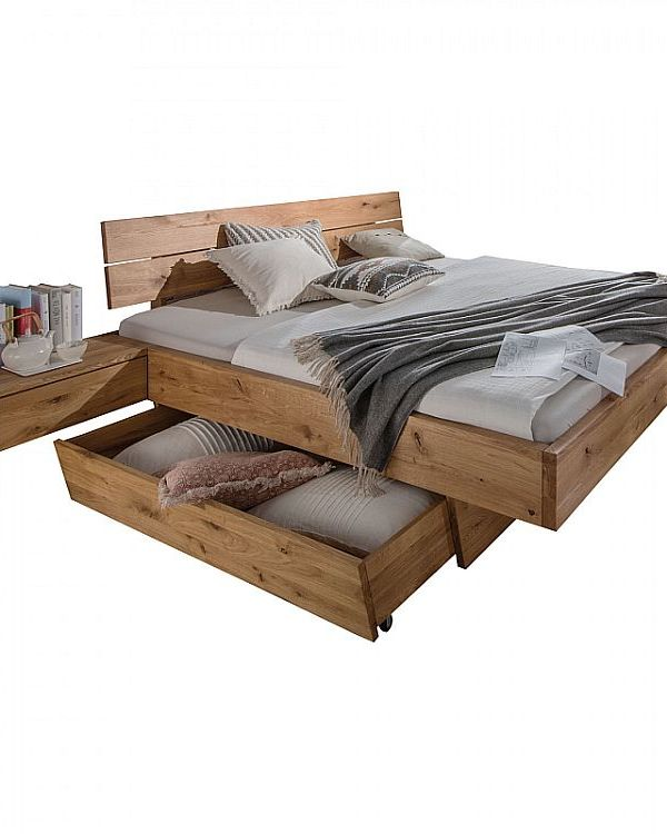Massief houten bedframe