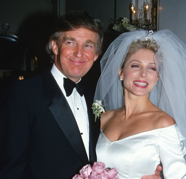 marla maples and her husband donald trump