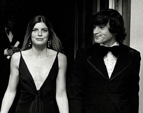 Gaetano 'Tom' Lisi with Katharine Ross