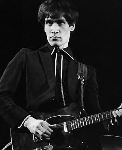 Multi-talented, Wilko Johnson during his young age.