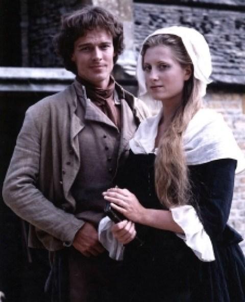 Former husband and wife, Iain Glen and Susannah Harker.