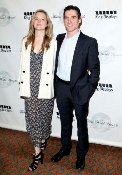 Former girlfriend and boyfriend, Grace Gummer and Billy Crudup.