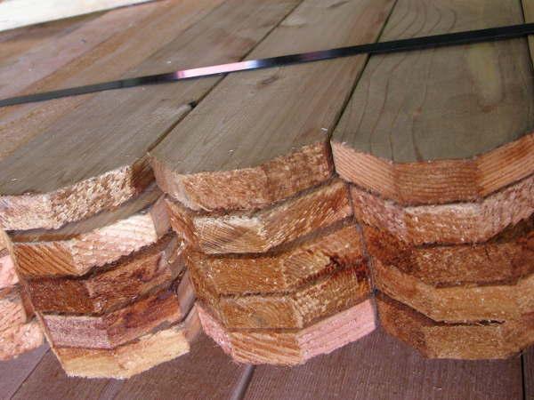 Cedar pickets