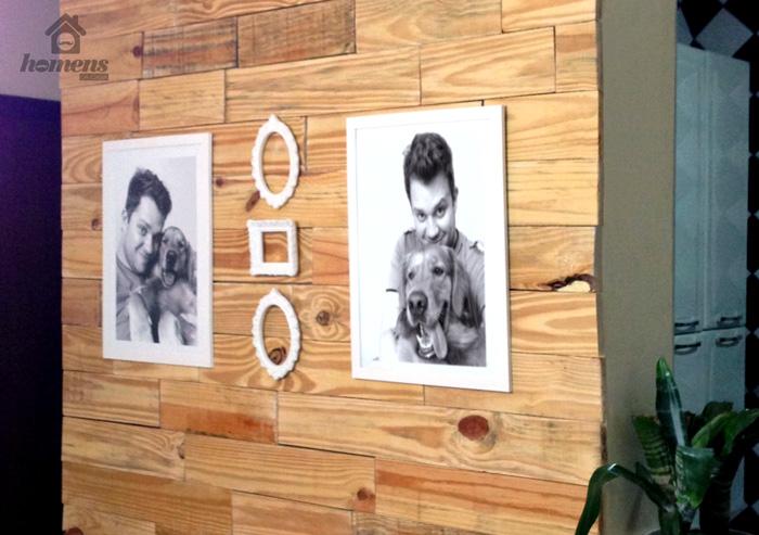 Revestindo uma parede com madeira – Faça você mesmo