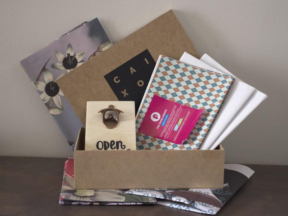 Unboxing Caixote Edição 19 – Clube de Assinatura de Decoração e DIY