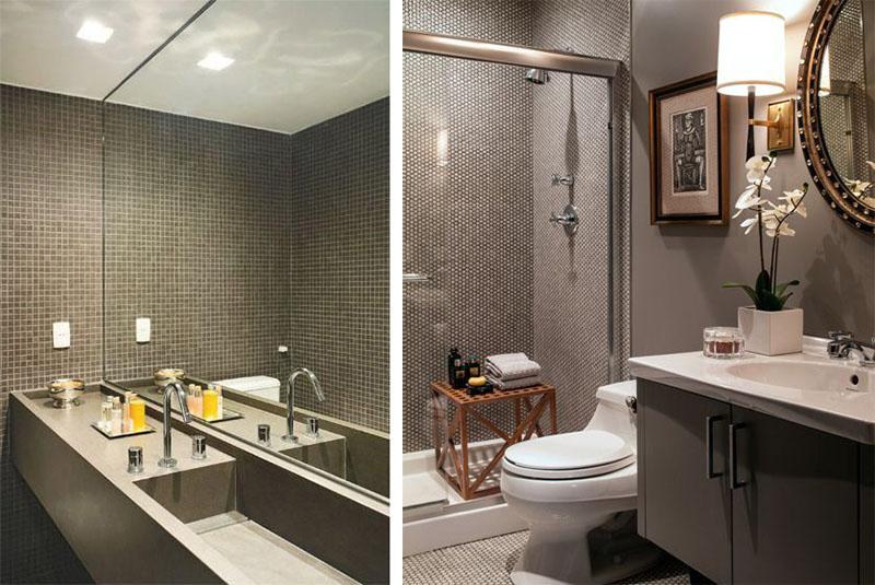 banheiro pastilha cinza