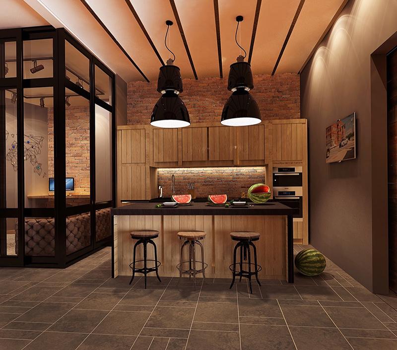 cozinha industrial pequena