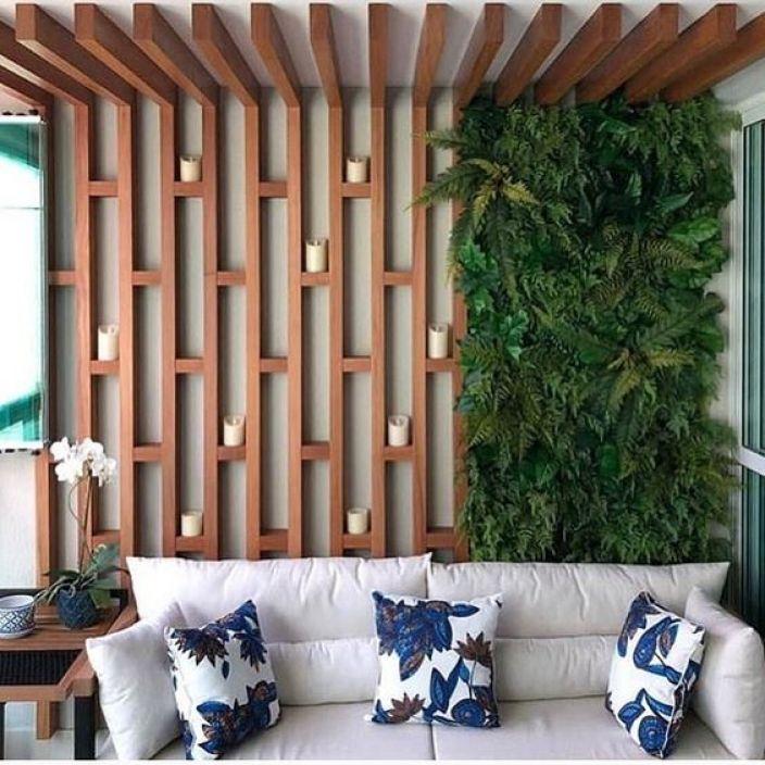 como criar um jardim vertical