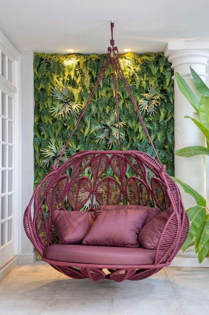 decorando espaços com jardim vertical