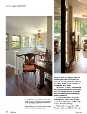 Lux Design Interior Spread Jacobson