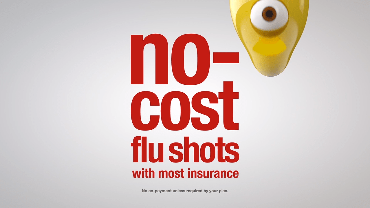 no cost flu shot
