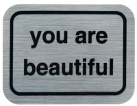 Meet the artist behind the many 'You Are Beautiful' signs around Chicago -  RedEye Chicago