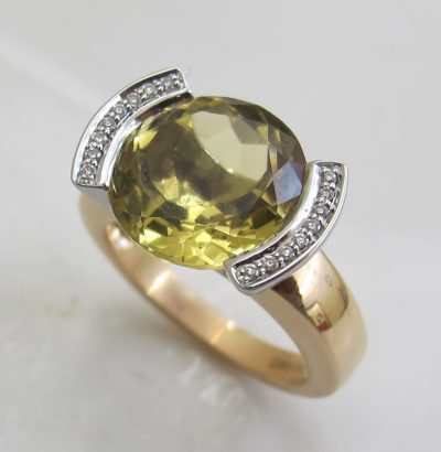 Ring Champagne Quarz
