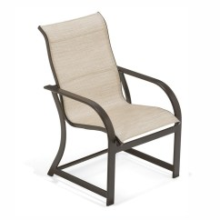 Key West Chairs Table And For Kids Doerr Furniture High Back Sling Dining Chair