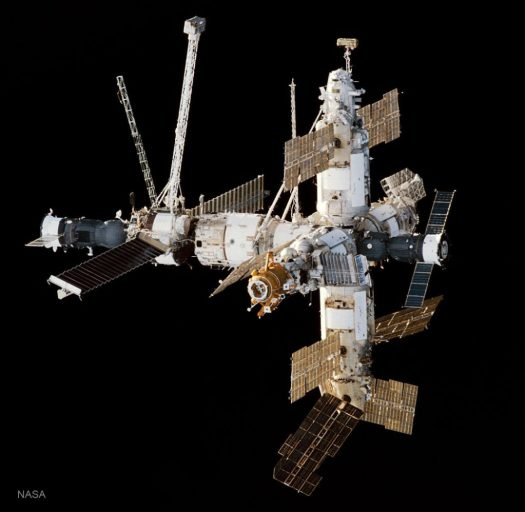 Mir Space Station photo by NASA