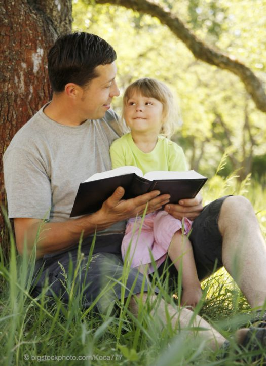 Father-Daughter Bible Reading