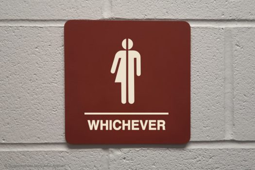 Restroom Sign-Whichever