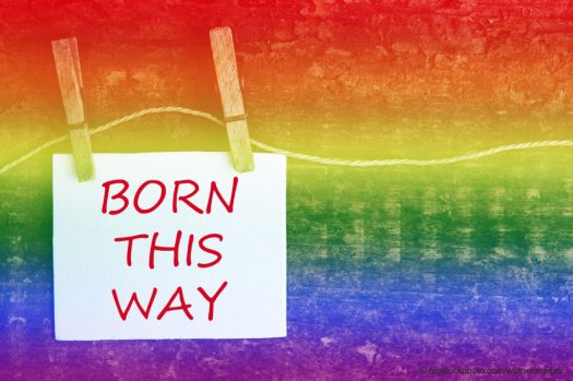 Born This Way Sign
