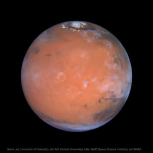 Martian Global Aurora