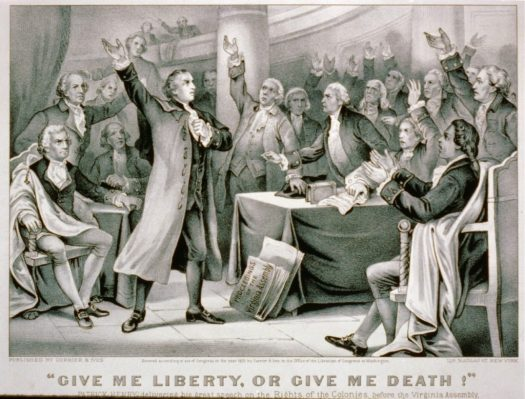 Quoting Patrick Henry