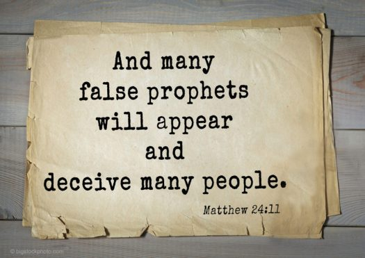 The Day and the Hour-False Prophets
