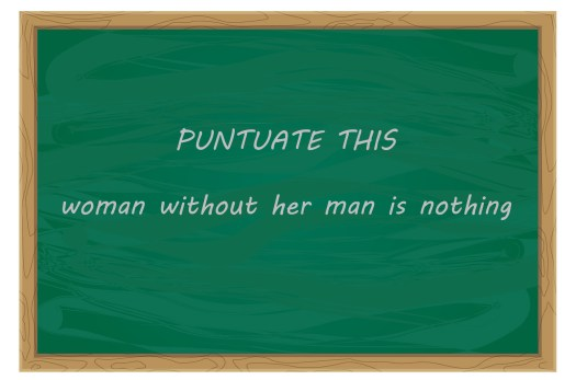 Punctuation Causes Misunderstandings