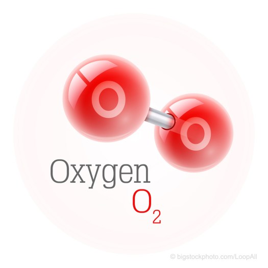 Breathe Easy Oxygen Molecule