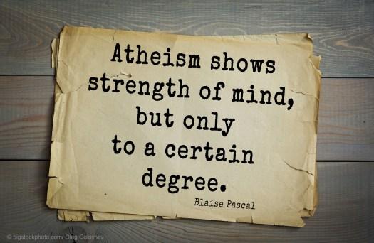Why Atheism Makes Sense