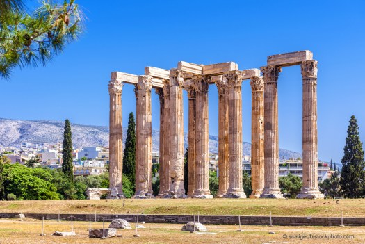 Temple of Zeus - Today Nature is the Unknown God