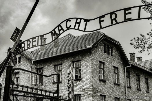 Auschwitz Entrance - Magnitude of Hate and the Love of Christ