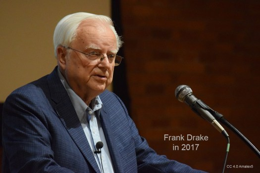 Drake Equation author Frank Drake