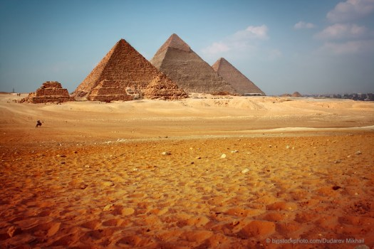 Pyramids and Bricks in Egypt