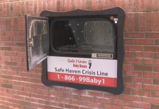 Safe Haven Baby Box