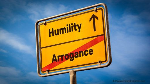 No Room for Arrogance