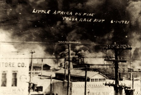 Tulsa Massacre in Greenwood