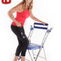 Chair Gym Reviews Swivel Mat Review Compact Exercising With Power Does The Really Work