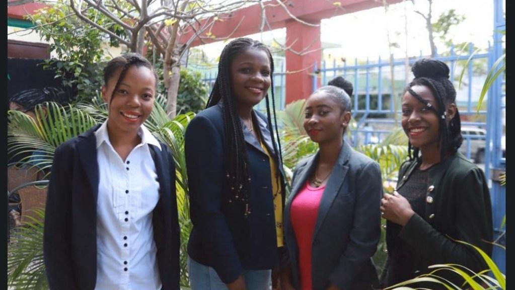 Une équipe essentiellement féminine gagne le concours Hult Prize de l'Université de Port-au-Prince, Edelweiss nous parle de son projet SACO!