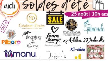 Soldes d'Été, une initiative accouchée du partenariat entre Daphnée Floréal et Aioli Restaurant.